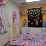 Princess Birthday party decor for girls. Custom made, beautiful decor